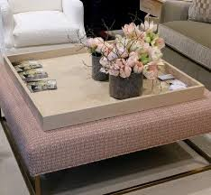 Furniture, Large Tray For Ottoman Coffee Table Ideas Living Room Table  Image: Serving The Best by Large Ottoman Tray Ideas Selection