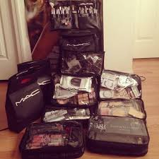 mac cosmetics zuca bag freelance makeup kit have makeup will travel