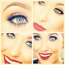 jaclyn hill wedding makeup. pretty holiday makeup by jaclyn hill! natural make up with red lipstick! hill wedding l