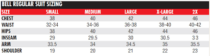 Javelin Container Sizing Chart 56 Unusual Javelin Size Chart