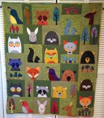 Another Art Tart quilt from the West Georgia Quilt Guild. This is ... & Woodland Critters Quilt..... Made this after taking the Craftsy class  Fusible Adamdwight.com