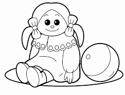 Baby Girl Coloring Pages To Print At Getdrawingscom Free For