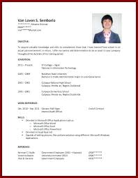 Sample Resume For A College Student Fresh Ideas Resume For College