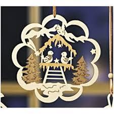 Dpr Fensterbild Vogel Im Wald Holz Fensterdeko Wanddeko