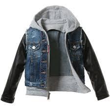 dsquared2 boys denim hooded jacket 3