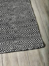 black and white area rug ikea rugs designs creative chevron decoration