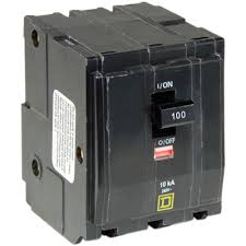 square d qo 100 amp 3 pole plug in circuit breaker