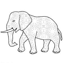 Elephant Coloring Printable Elephant Coloring Pages Cute Also Free