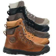 details about palladium mens pampa cuff lux designer waterproof leather walking boots shoes