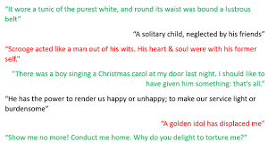 A Christmas Carol Quotes Impressive A Christmas Carol Plot And Quotations Miss Ryan's GCSE English