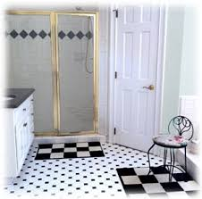 bathrooms with black and white tile. black white tile bathroom bathrooms with and e