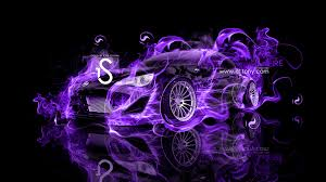 scion fr s fire abstract car