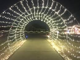 Driveway Tunnel Christmas Lights Our Driveway Christmas Light Tunnel 24 Long Its A Trip