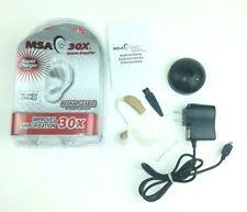 <b>Слуховые аппараты</b> MSA 30X — купить c доставкой на eBay США