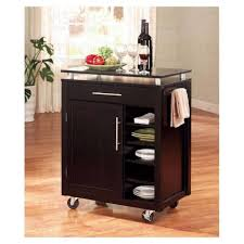 stainless steel island on wheels movable center island portable kitchen island with wine rack wood and metal kitchen cart stationary kitchen islands