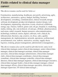... 16. Fields related to clinical data manager ...