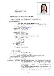 Ideas Of Resume Format For Nursing Job Unique Resume Sample For