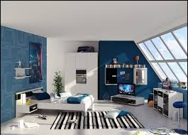 Bedroom  Floor Navy Blue Teenage Boy Bedroom Ideas Blue Tan - Boys bedroom idea