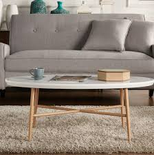 51 oval coffee tables for curvaceous