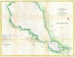 Details About 1862 Coastal Survey Map Nautical Chart Southern Part Of San Francisco Bay