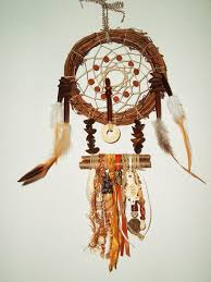 Chippewa Dream Catchers Awesome Handmade Dream Catcher Chippewa Wood Twig Ribbon Shell Seed