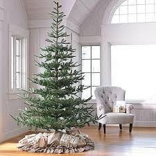 Noblis Fir Artificial Christmas Tree faux-real to me!