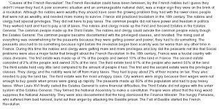 french revolution essay help