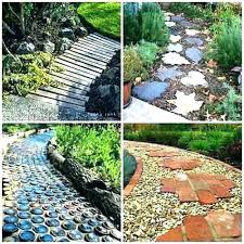 garden path edging paths ideas unique and creative paving wooden how to build a pathway gard wooden garden path