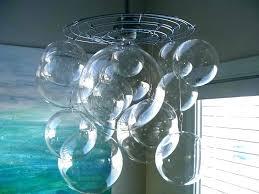 unique bubble light chandelier glass bubble light chandelier