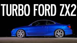 Turbo 1998 Ford Escort ZX2 - YouTube