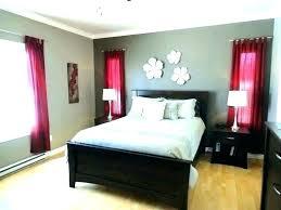 Splendid Red And White Bedroom Decor Black Living Room Decorating ...