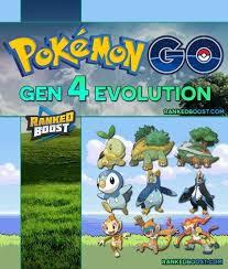 Pokemon Go Gen 4 Pokemon List Visual Guide For The Fourth