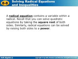 solving radical equations that lead to quadratic jennarocca