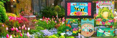 garden flags. Spring Has Sprung! Garden Flags