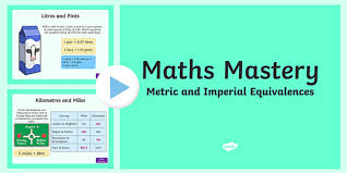 Metric Measurement Conversion Chart For Kids Year 5 Measurement Metric And Imperial Equivalences Maths