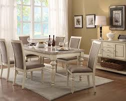 Peaceful Design Ideas Antique White Dining Room Sets All Dining Room - Modern white dining room sets