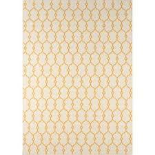 baja yellow 4 ft x 6 ft indoor outdoor area rug