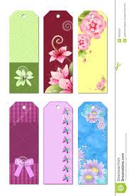 Design Bookmarks Bookmark Designs Stock Illustration Illustration Of Cute