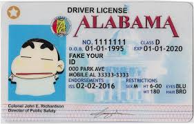 Buy Fake Id Make We Ids Premium - Alabama Scannable