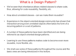 What Is Design Pattern
