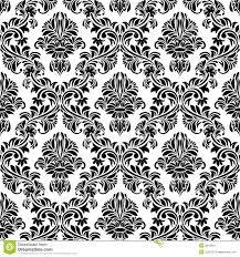 Zwart Naadloos Behang Vector Illustratie Illustratie Bestaande Uit
