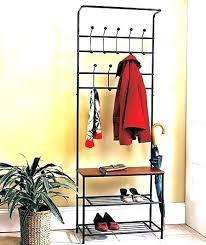 Oak Coat Rack With Baskets New Coat Storage Rack Coat Cabinet Storage Entryway Bench Coat Rack