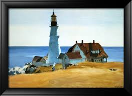 lighthouse porthead by edward hopper