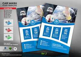Car Wash Flyer Template Car Wash Flyer Template By CreativeTouch GraphicRiver 9