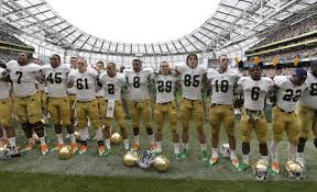 2012 Notre Dame Football Depth Chart A Decade Of Notre Dame Football 2010 19 Notre Dame