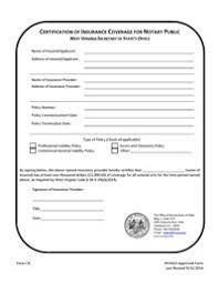 Applying for a Notary Public Commission