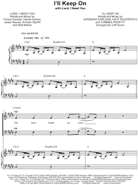 lord i need you sheet music buy musicnotes digital sheet music