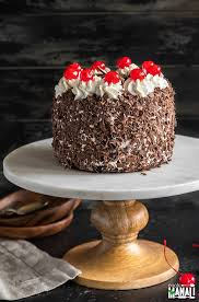 Eggless Black Forest Cake Cook With Manali
