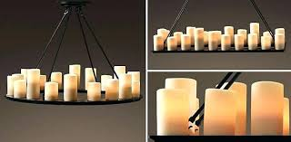 flameless candle chandelier restoration hardware candles faux home and furniture with ideas 1 outdoor chande flameless candle chandelier