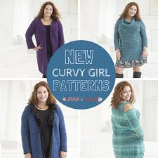 Plus Size Patterns Inspiration New Lion Brand Patterns Plus Size Crochet Knit Patterns Stitch